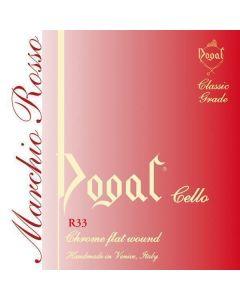 Dogal rossa set violoncello piccolo 1/2, 1/4, 1/8, 1/10