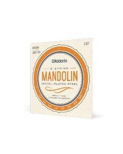 D'Addario Mandolino, corde per mandolino in nickel, set completo