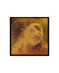 Pirastro Evah Pirazzi Gold violino Set con Sol argento