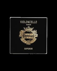 Jargar Superior per violoncello - set completo TENSIONE MEDIA