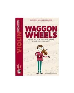 Colledge, K. & H. - Waggon Wheels per Violino e Piano, parte, spartito accompagnamento e AudioAccess (Boosey & Hawkes)