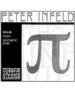 Thomastik Peter Infeld violino set (con mi platino e re argento)