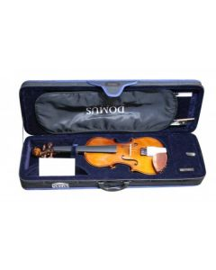 Violino Domus Allievo 1,  set completo 4/4, con custodia, arco e pece, corde Dogal