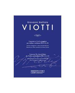 Viotti, G.B. - Concerto n.3 il La Magg per violino e orch WI:3 (G.25), riduzione per violino e piano (Curci e CIDIM)