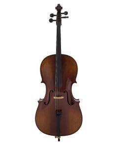 Violoncello Vox Meister  Student CES in legno massello, preparato e pronto per suonare