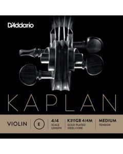 D'Addario Kaplan Gold Violino 1 - Mi oro