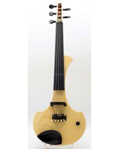 Violino elettrico Cantini Earphonic Natural Wood 5 corde