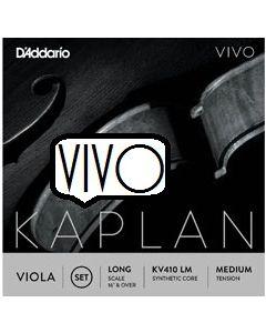 D'Addario Kaplan Vivo viola set