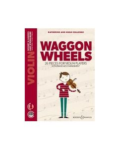 Colledge, K. & H. - Waggon Wheels per Violino e Piano, parte, spartito accompagnamento e AudioAccess (Boosey & Hawkes)