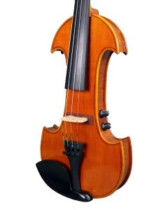 Violino elettrico RG-Violin Classic Line - set completo con arco in carbonio