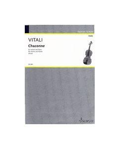Vitali, T.A. - Chaconne per violino e piano (ed. Schott, rev. Kross)