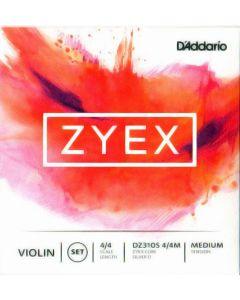 D'addario Zyex violino set (Re argento)